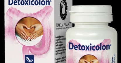 Detoxicolon, 60 comprimate - Dacia Plant