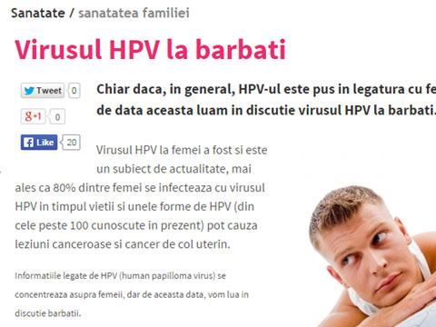 papilloma virus ce inseamna