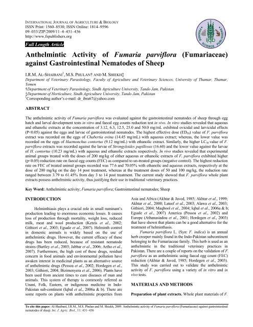 anthelmintic activity procedure dezintoxicare prin intestine