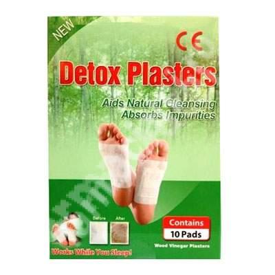 Plasturi detoxifianti Kinoki pentru talpi 10 buc
