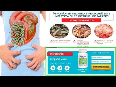tratamente complexe pentru viermi tratamentul paraziților monogeni