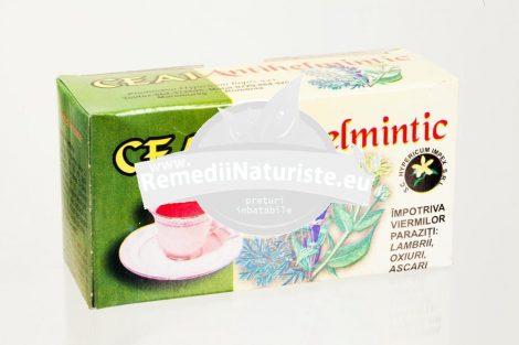Ceai impotriva parazitilor intestinali