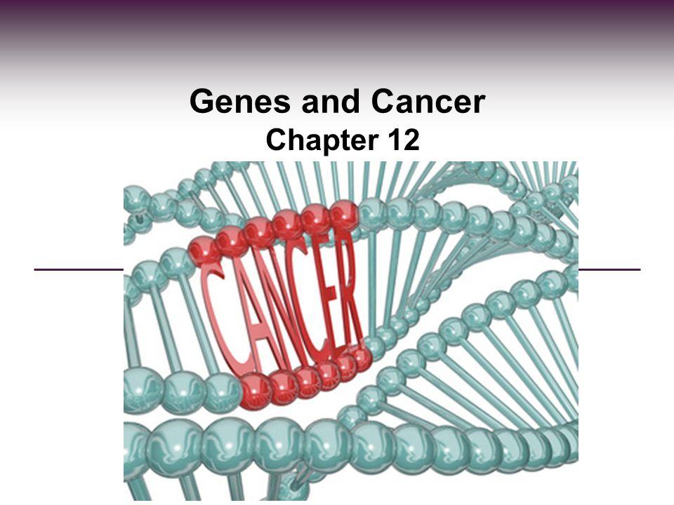 Cancer is genetic disease,