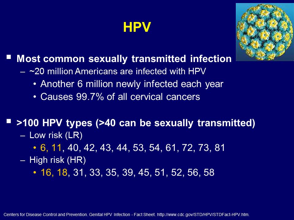 Artroza HPV, Human papilloma virus kako se prenosi