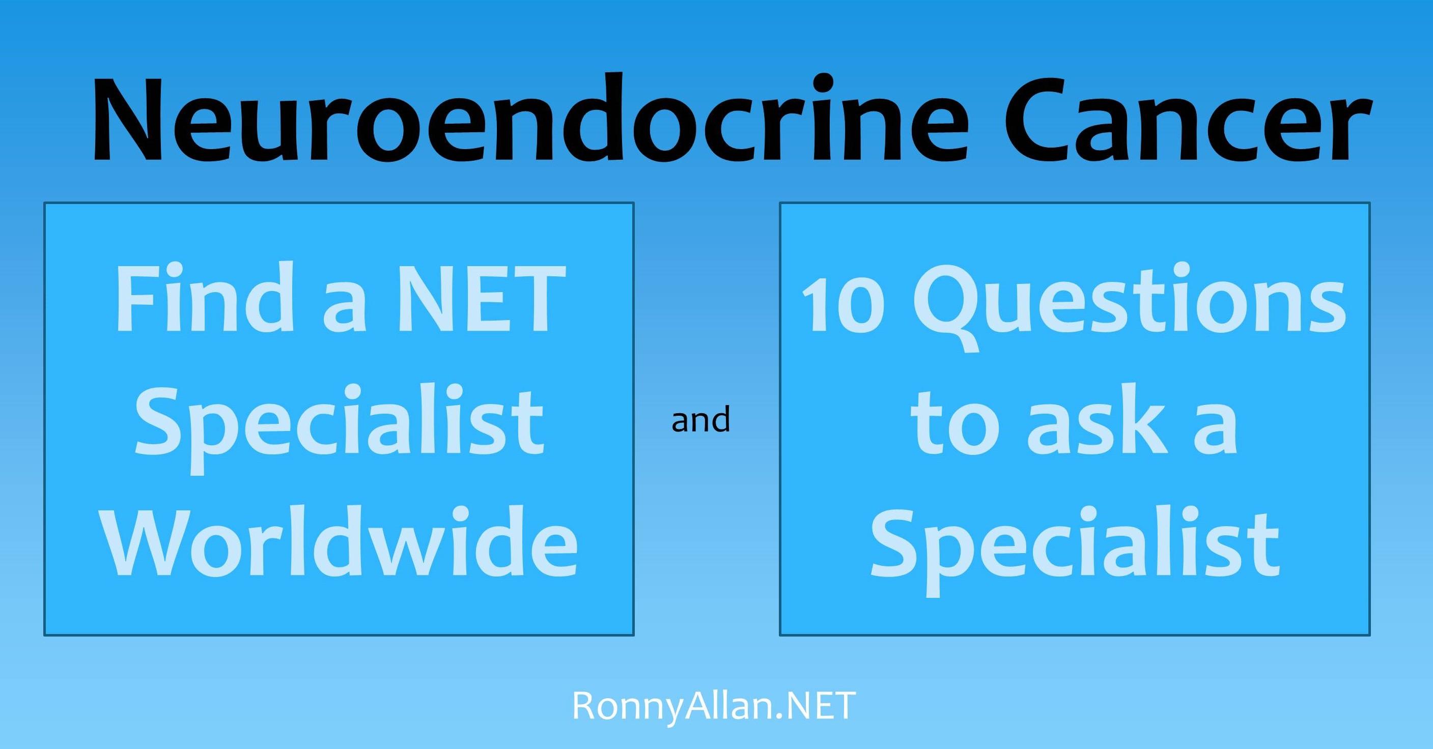 Neuroendocrine cancer best doctors, Neuroendocrine cancer best doctors