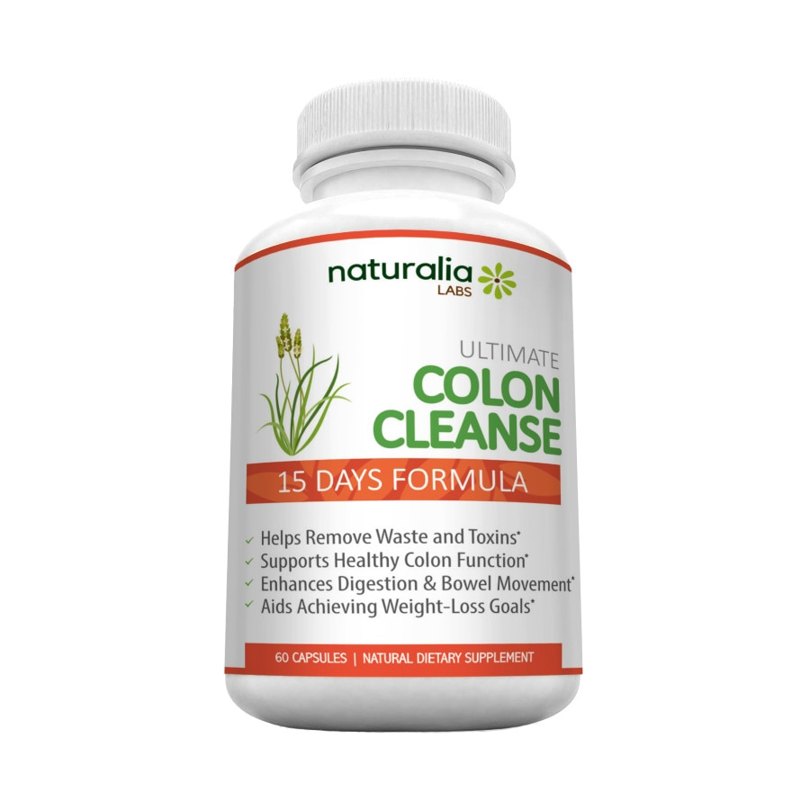 Colon Plus+ cu 12 Ingrediente Active pentru un Colon Curat - Concentrat