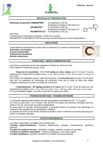 Antihelmintic - Wikipedia - Efectul medicamentelor antihelmintice