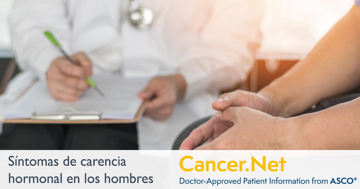 cancer hormonal sintomas cum să elimini helmintii cu spectru larg