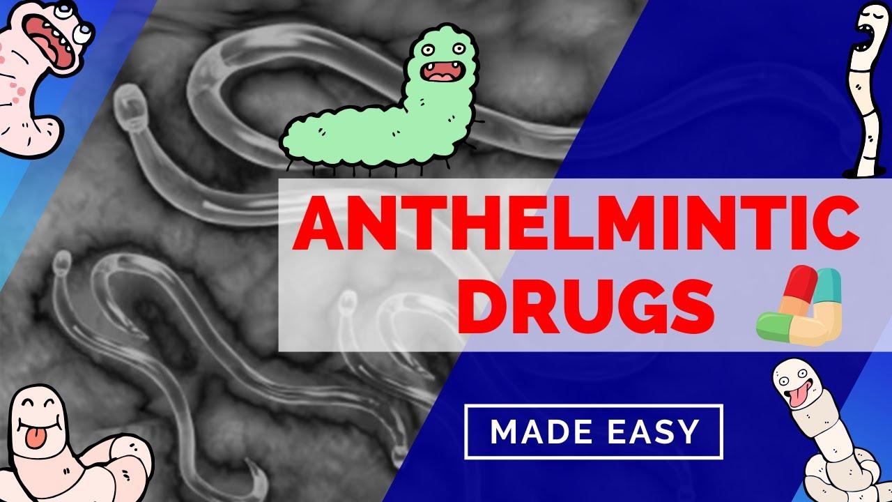 medicamente antihelmintice cu gv