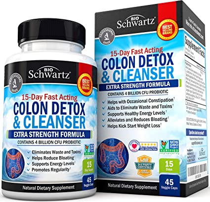 Total Cleanse Colon x 60cps (Secom)