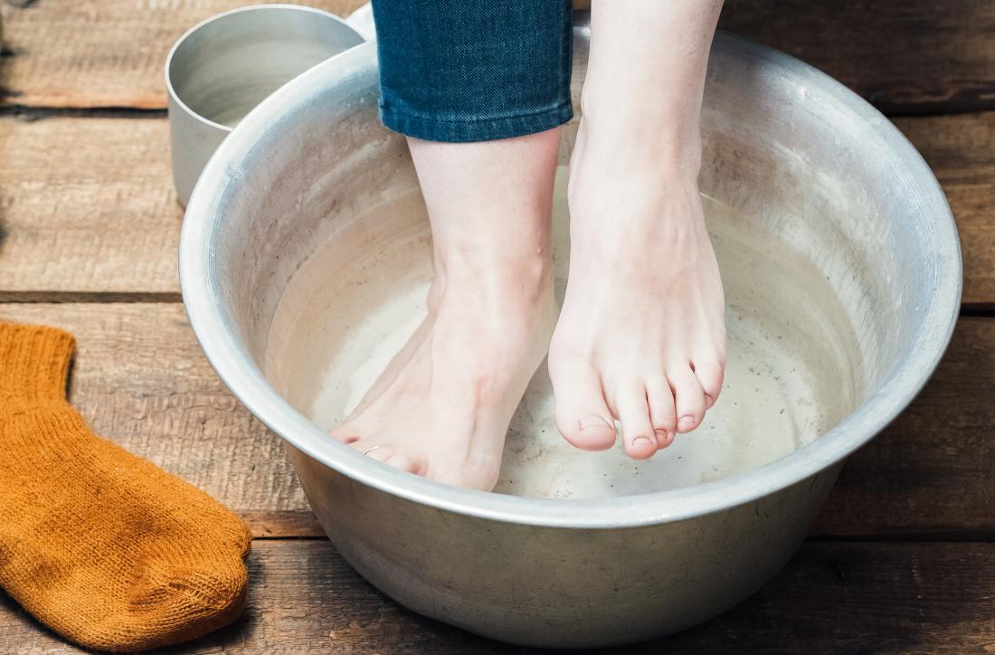 wart foot bath