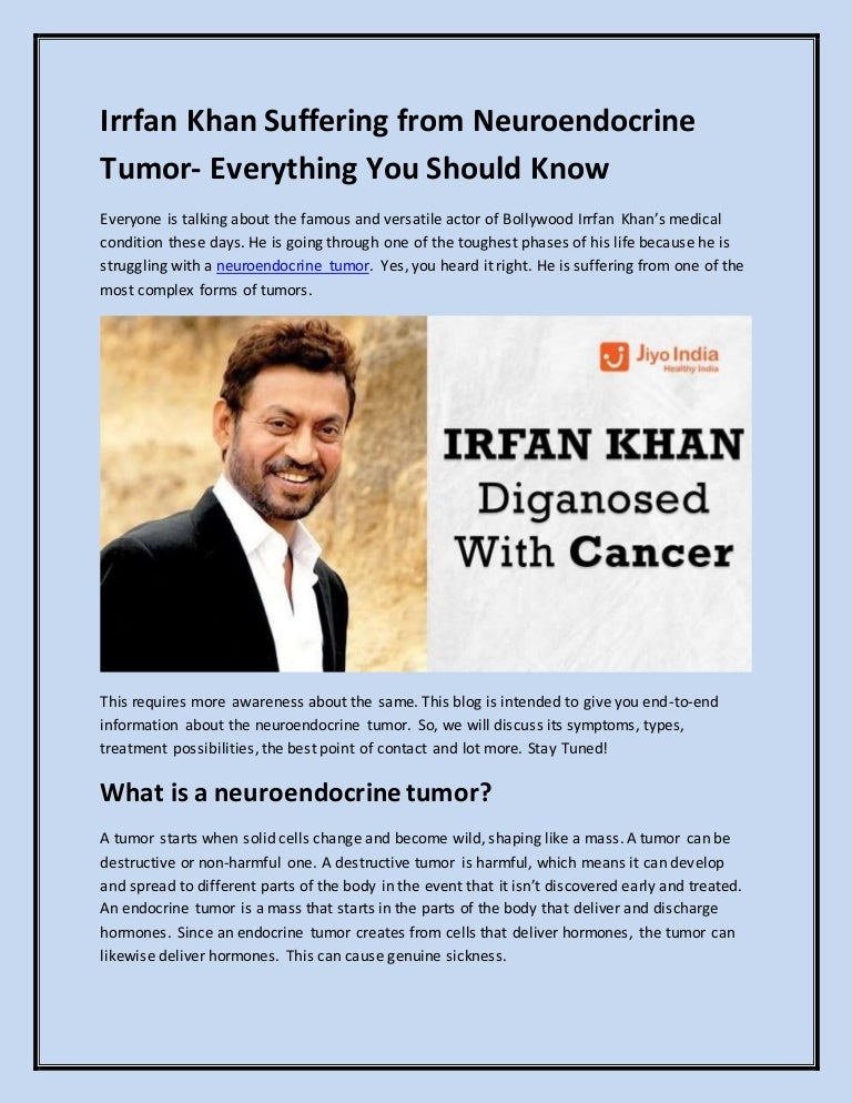neuroendocrine cancer end of life