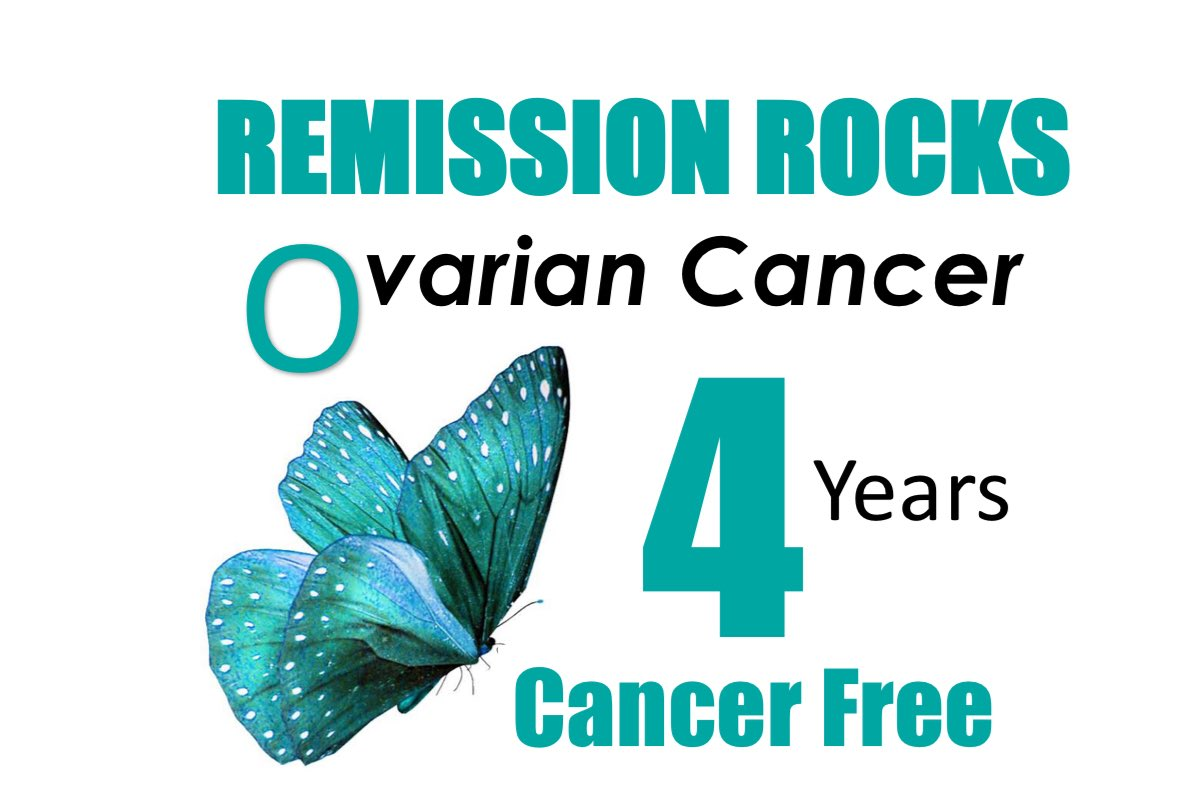 ovarian cancer in remission