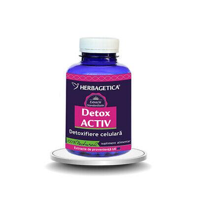 Detox Activ, Detoxifiere Celulara XCapsule, Herbagetica - csrb.ro