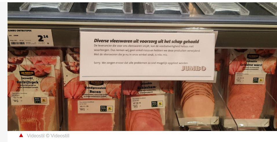 bacterie jumbo vleeswaren