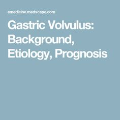 gastric cancer emedicine
