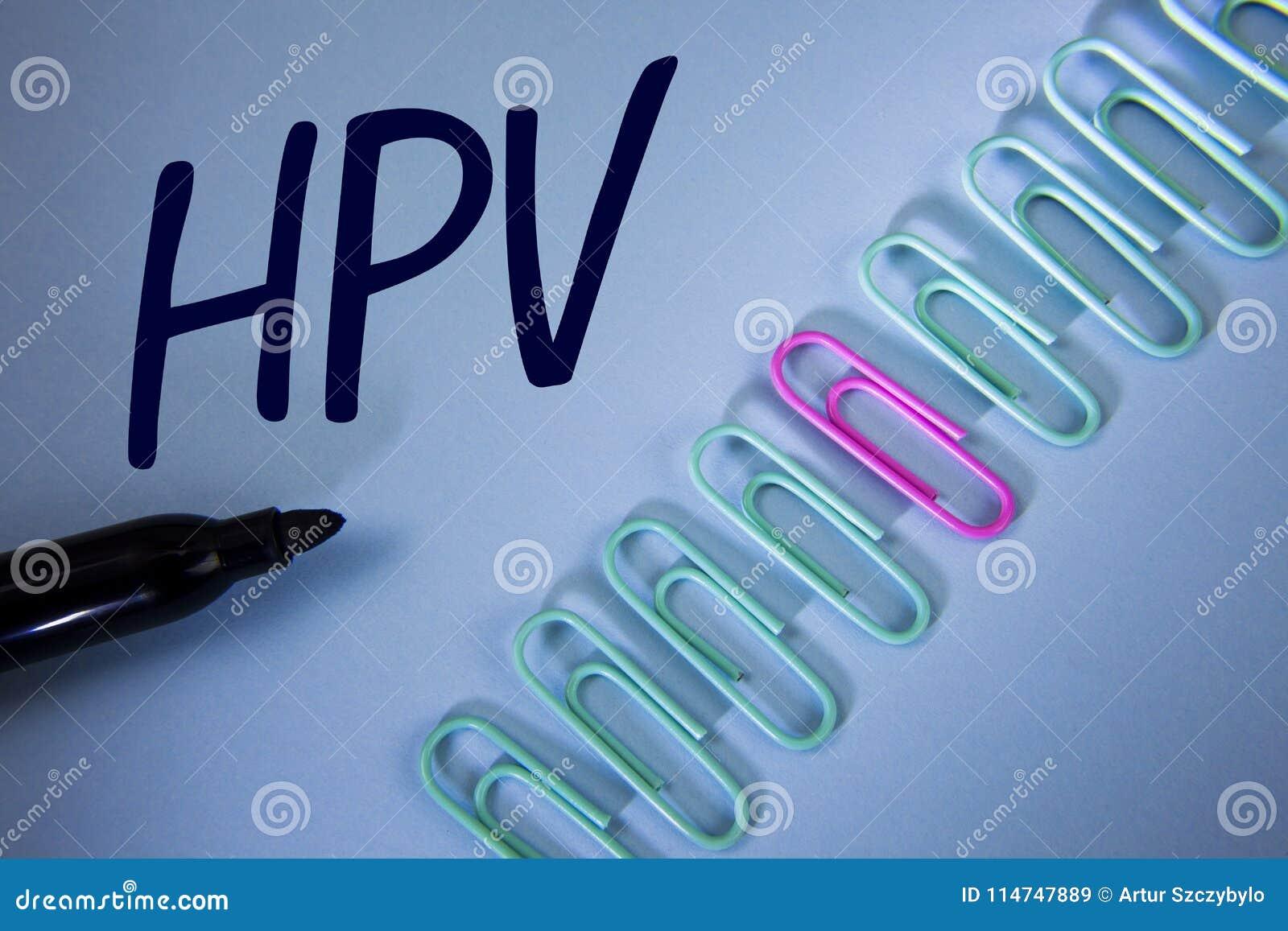 Papilloma meaning of the word, Human papillomavirus meaning word