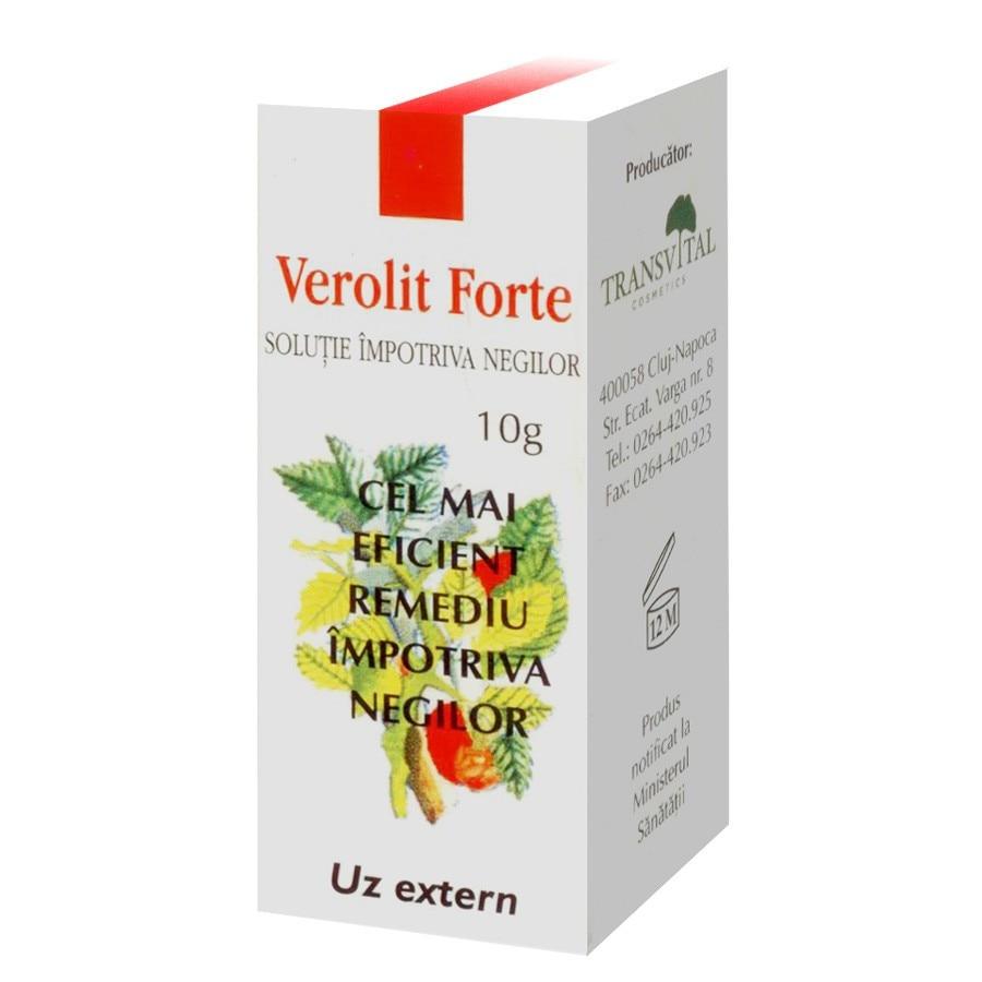Verolit forte Solutie impotriva negilor - Parapharm, 5 ml (Negi) - csrb.ro