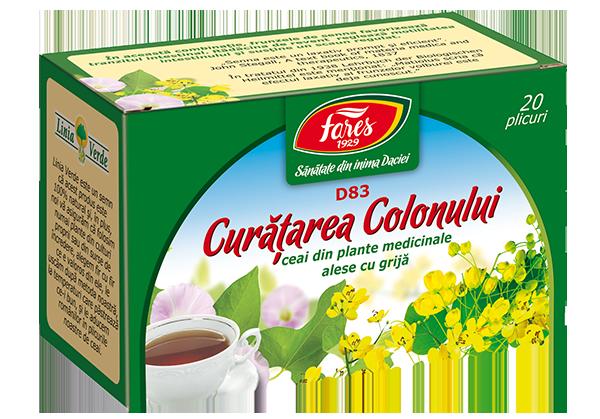 plante pentru detoxifierea colonului