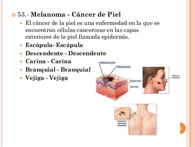 Que es cancer a la piel