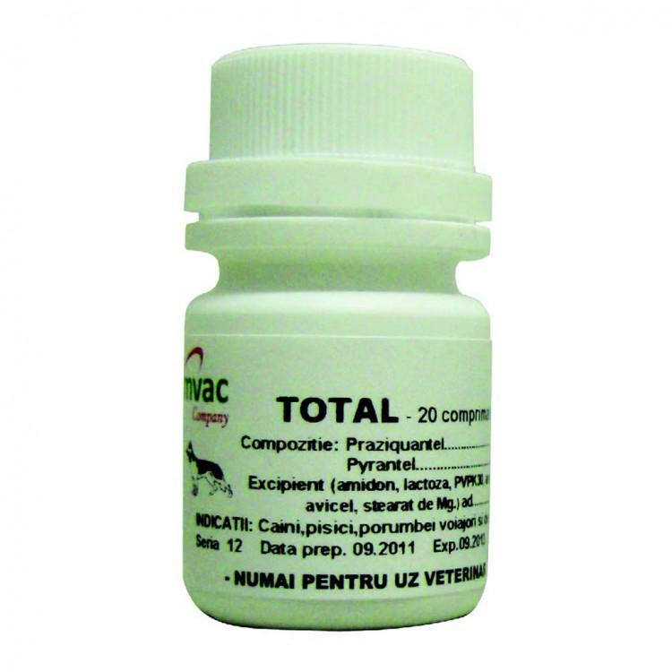 Pastile de vierme rotunde pentru adulți. Tablete de azinox din viermi