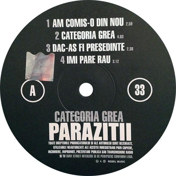 parazitii cd