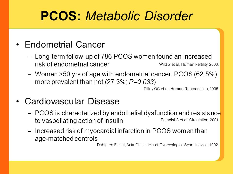 Endometrial cancer pcos, Pin on All About Cancer Types :(