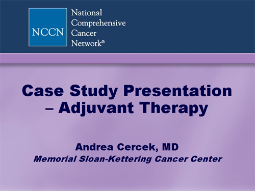 colorectal cancer case study