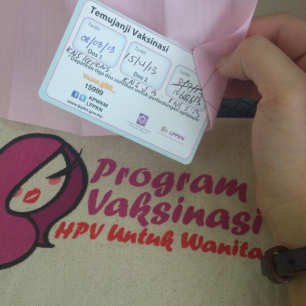 hpv vaccine klinik nur sejahtera care medicul îndepărtează papilomele de pe pleoapă