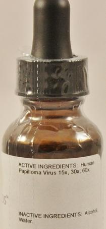 human papillomavirus nosode helminthic therapy depression
