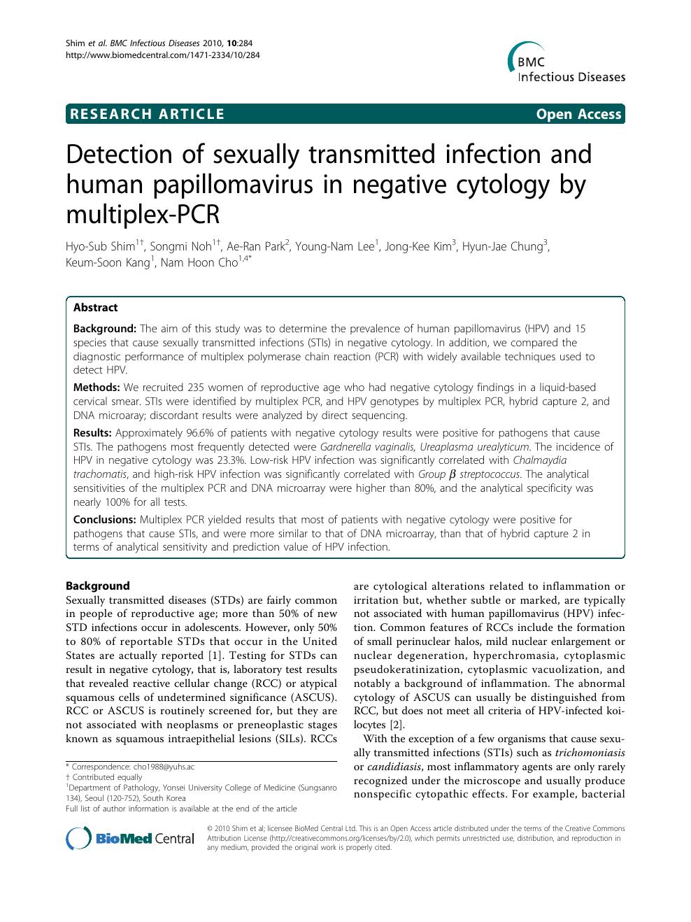 Papillomavirus est il transmissible a lhomme