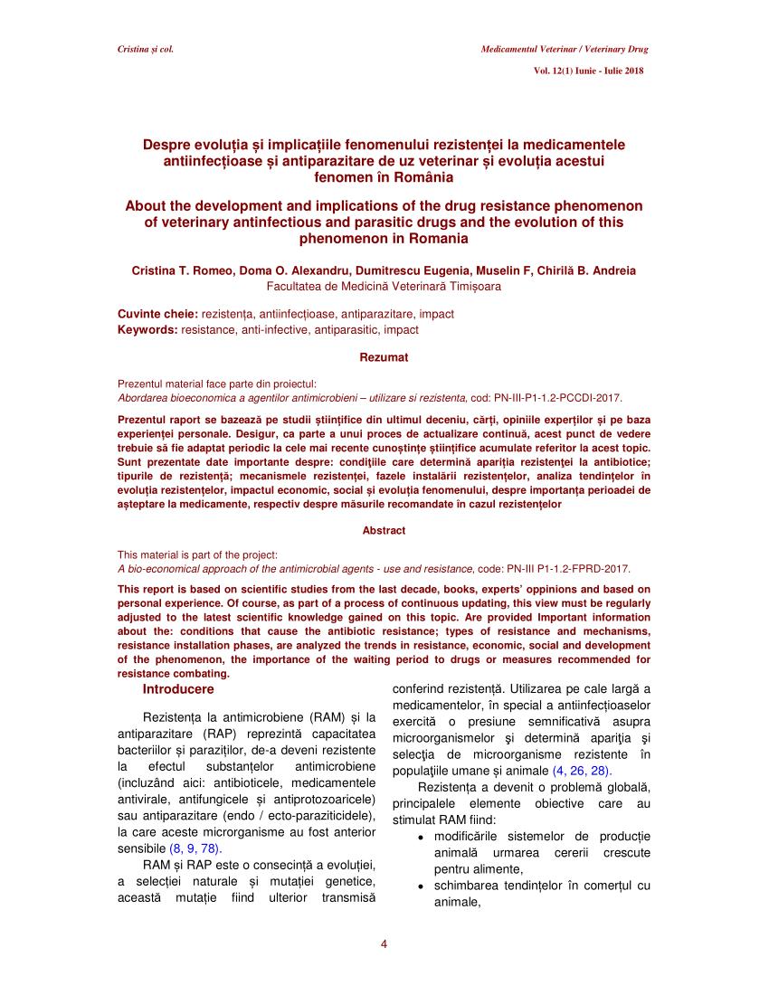prezentare generală a agenților antiparazitari