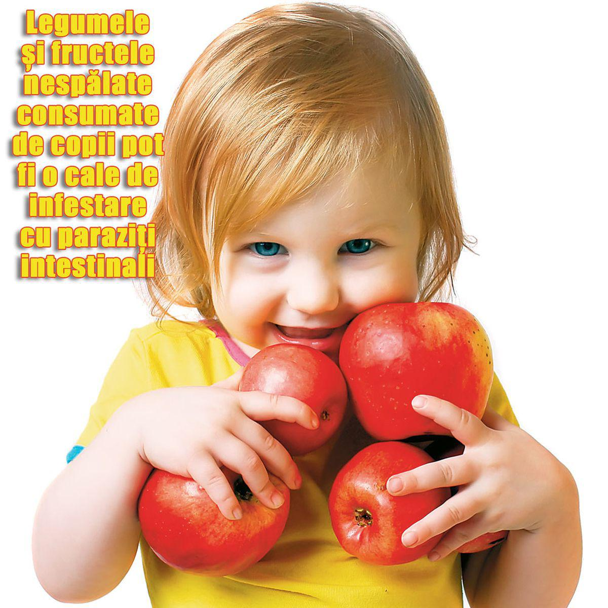 viermi intestinali copii poze