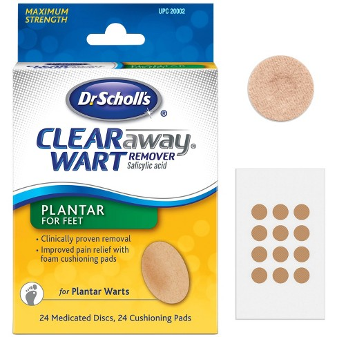 Wart treatment of