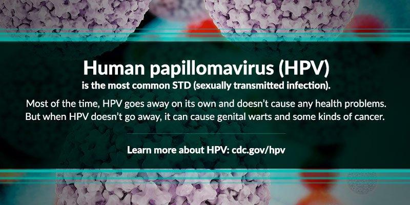 Genital hpv cdc fact sheet
