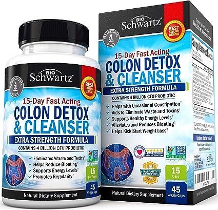 colon detox cleanse colon helminths animație
