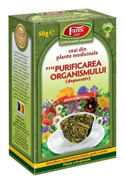 ceai detoxifiere organism colon detoxifiere