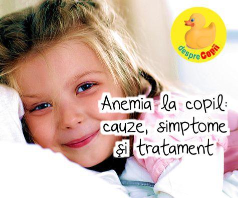 Anemia feriprivă sau lipsa fierului la copii. Ghid cu tot ce trebuie să știi