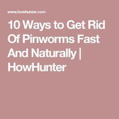 pinworms ce să facă