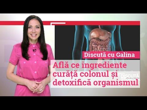 curățarea colonului și detoxifierea