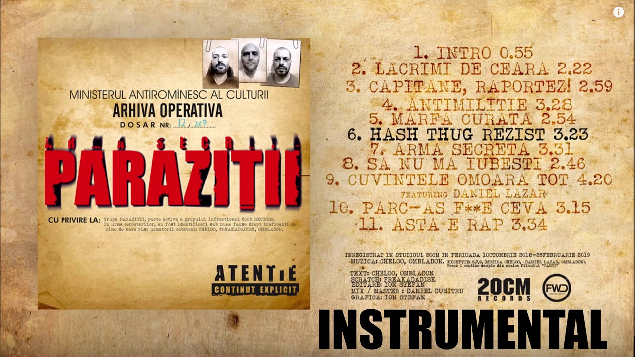 Parazitii da-te-n gatu matii download