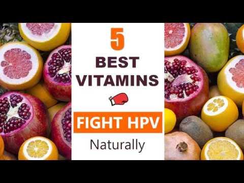 hpv virus treatment vitamins determinarea paraziților