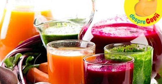 dieta detoxifiere 7 zile cu sucuri