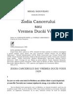 Zodia cancerului rezumat pe capitole