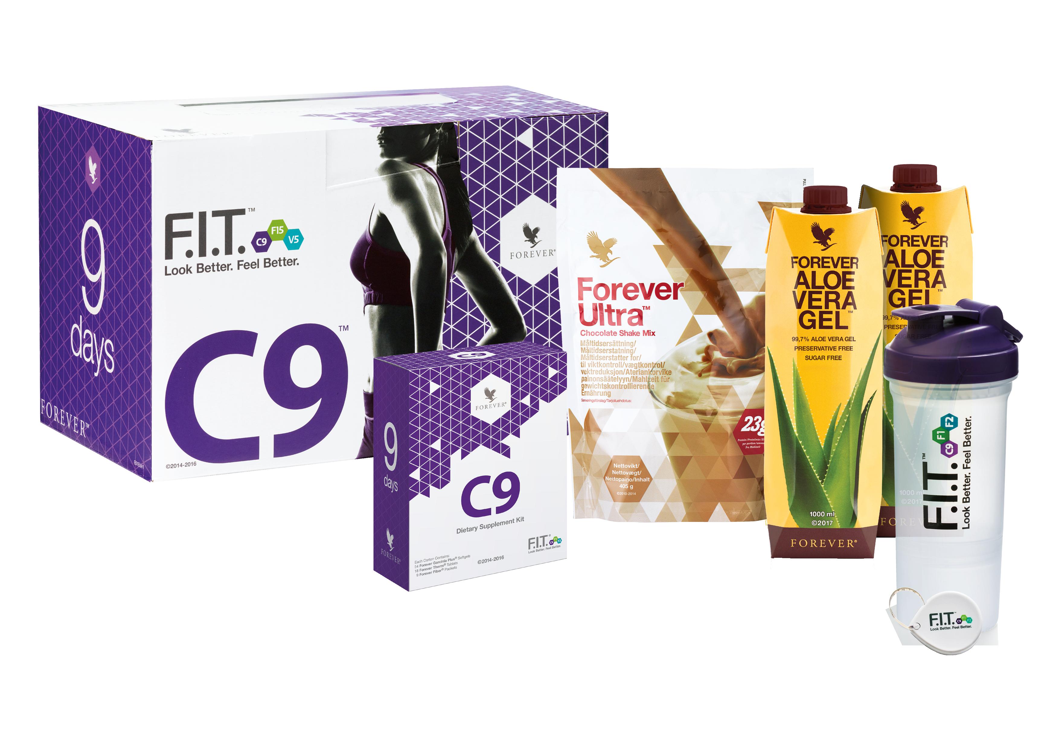 Clean 9 - Produse slabit si detoxifiere Forever Living