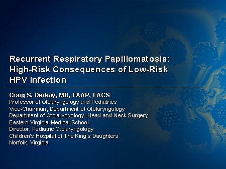 hpv vaccine respiratory papillomatosis