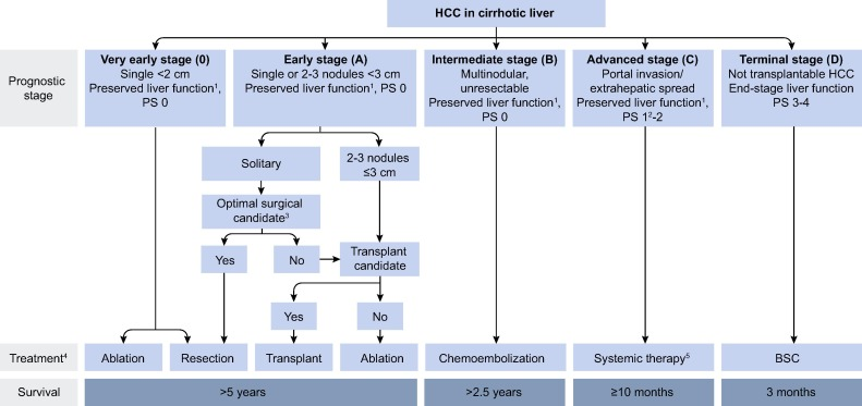 hepatic cancer guidelines