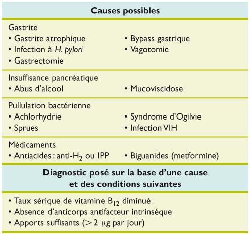l anemie pernicieuse