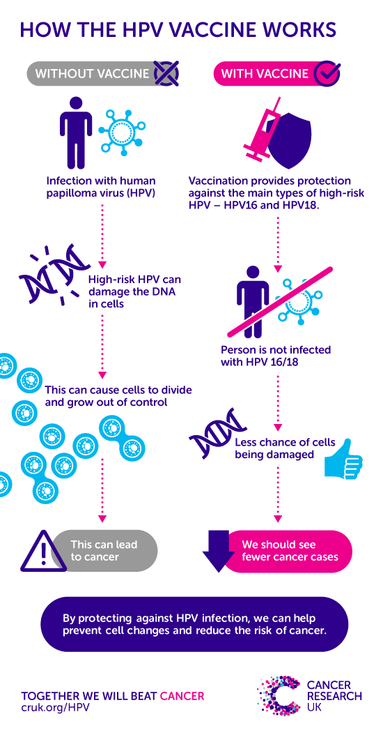 high risk hpv and throatcause