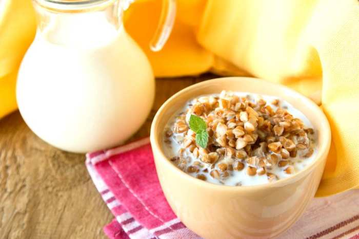 detoxifiere cu hrisca si iaurt